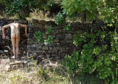 Landscapes - mur - Ardèche - 2019