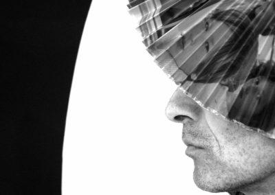 autoportrait à éventail - Arles 2015 - 1
