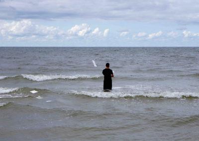 autoportrait - 100_sans papier(s) à la mer - Lituanie - 2017