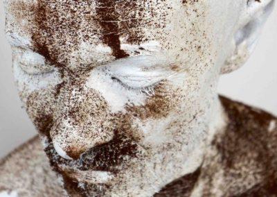 autoportrait - NBROA - 2015 - blanc poudré