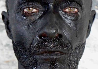 autoportrait - NBROA - 2015 - larmes noires -