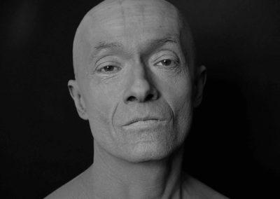 autoportrait gris cendré - 2017