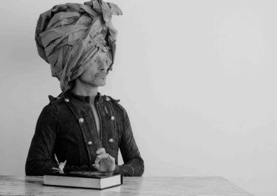 autoportrait - le turban - 2017